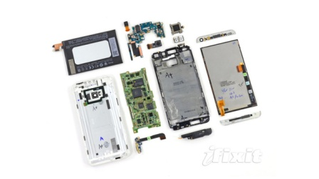 iFixit gave the HTC One the lowest score it's ever given a smartphone when it comes to repairability
